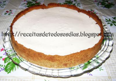 Torta de Cupuaçu Com Leite Condensado de Soja  e Creme de Leite de Soja da Bete