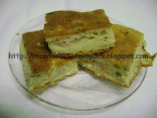 Torta Salgada com Sobras  de Arroz da Betechef