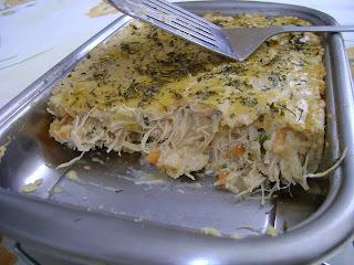 Torta de Frango da Mara