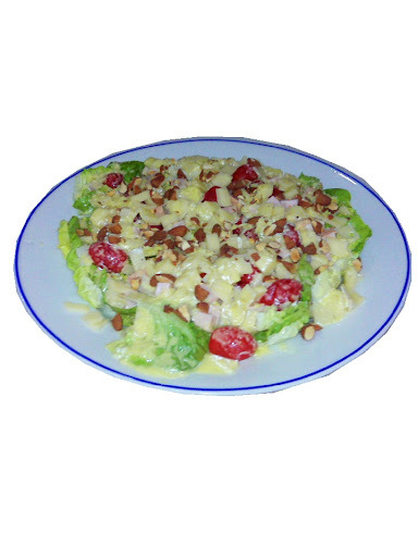 Ensalada con vinagreta de ixcatic