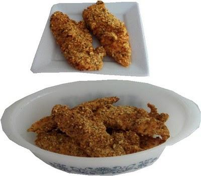 Pollo empanizado a la italiana