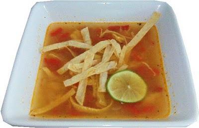 Sopa de lima Light