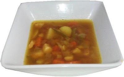 Sopa de pavo