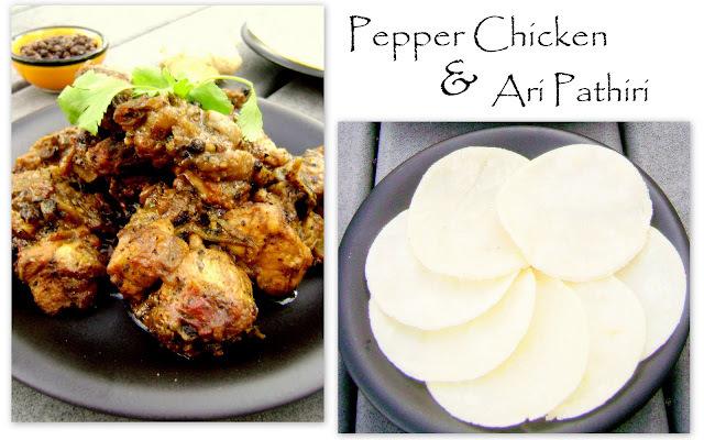 PEPPER CHICKEN &  ARI PATHIRI