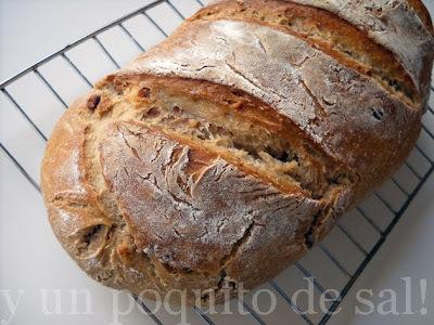 pan de nueces facilito