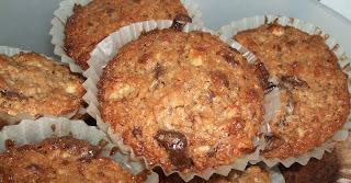 Chokolademuffins m. kokos.