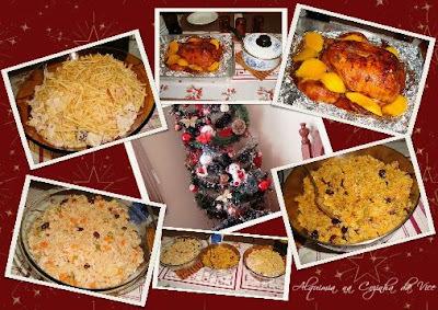 como fazer arroz para o natal para comer com peru
