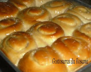 Pão Doce Cremoso (Máquina de Fazer Pão)