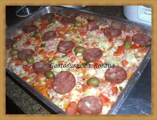 massa de pizza com fermix