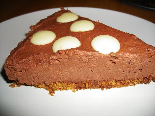 cheesecake com queijo mascarpone