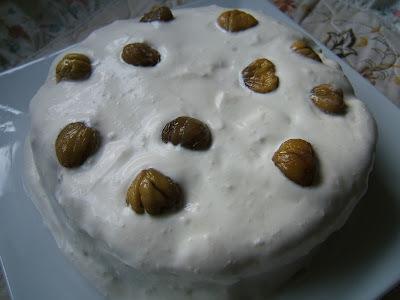 TORTA DE CASTAÑAS