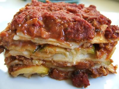 Lasagnas de calabacin