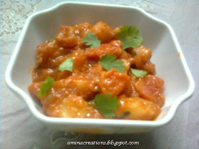potato side dish for chapathi