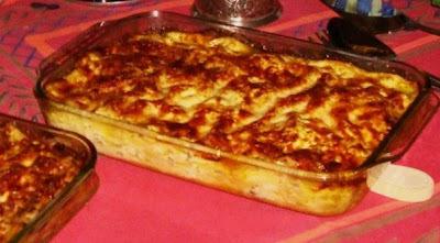 Pasticho, Lasagna, Lasaña
