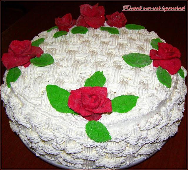 Oroszkrém torta szülinapra