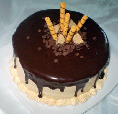 como fazer cobertura de bolo de bolo de joaninha