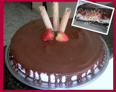 Torta Napolitana Gelada