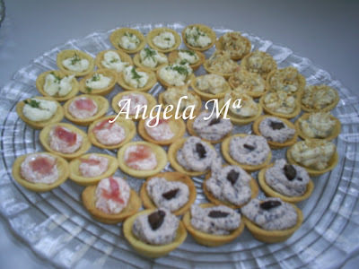 canapes com requeijao