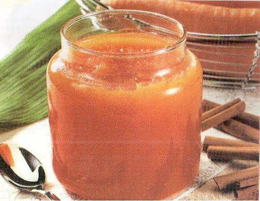 como fazer compota de cenoura