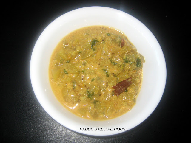SORAKAYA CURRY/ BOTTLE GOURD CURRY