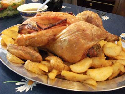 de asa de frango no forno no molho branco
