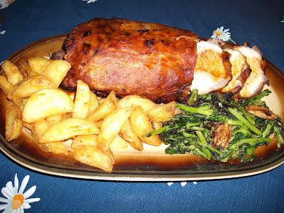 Lombo de Porco à Alentejana