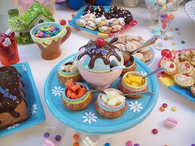 buffet especial para crianças.