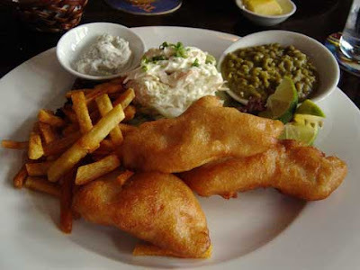 Fish and Chips ou Peixe com Batata Frita