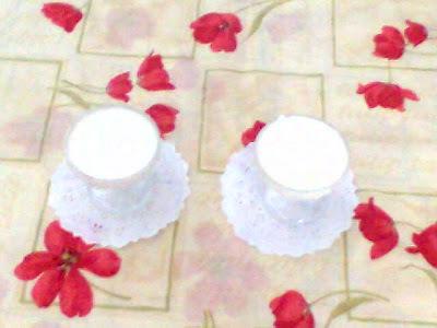 Iogurte Caseiro (sem a iogurteira)