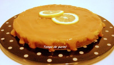 Cheesecake de limão siciliano com calda de goiaba