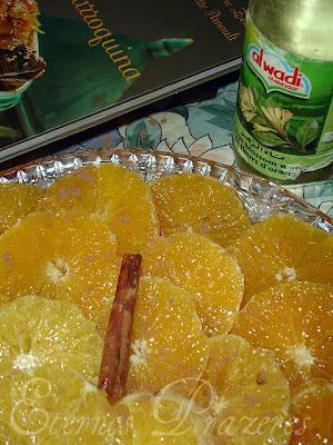 Salada marroquina de laranja e canela
