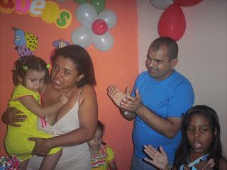 Bolo  Joaninha aniversário de Lê