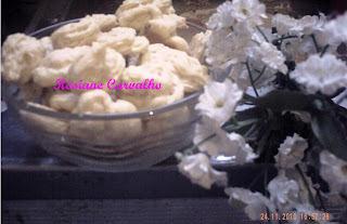 Biscoitinhos diet de coco