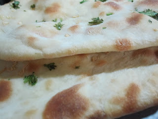 Butter Naan (Baked Indian bread)