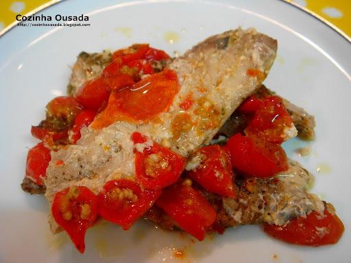 como preparar a sardinha salgada