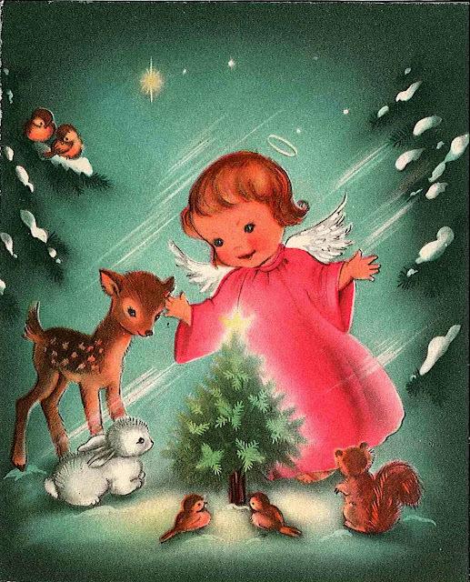 """Projeto Natal 2011"" cartões de Natal vintage"