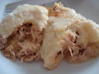 torta de frango com maizena e creme de leite