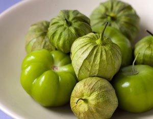 Salsa verde cruda