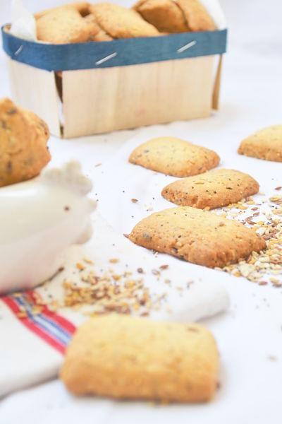 Biscuits côt côt côt aux graines