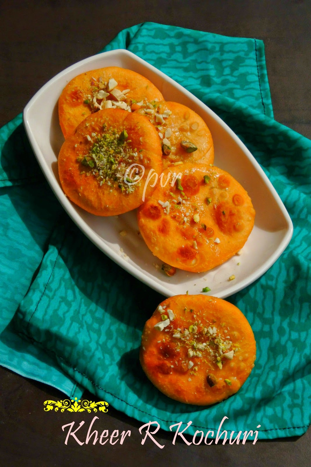 Kheer r Kochuri/Bengali Mawa Kachori - West Bengal Special