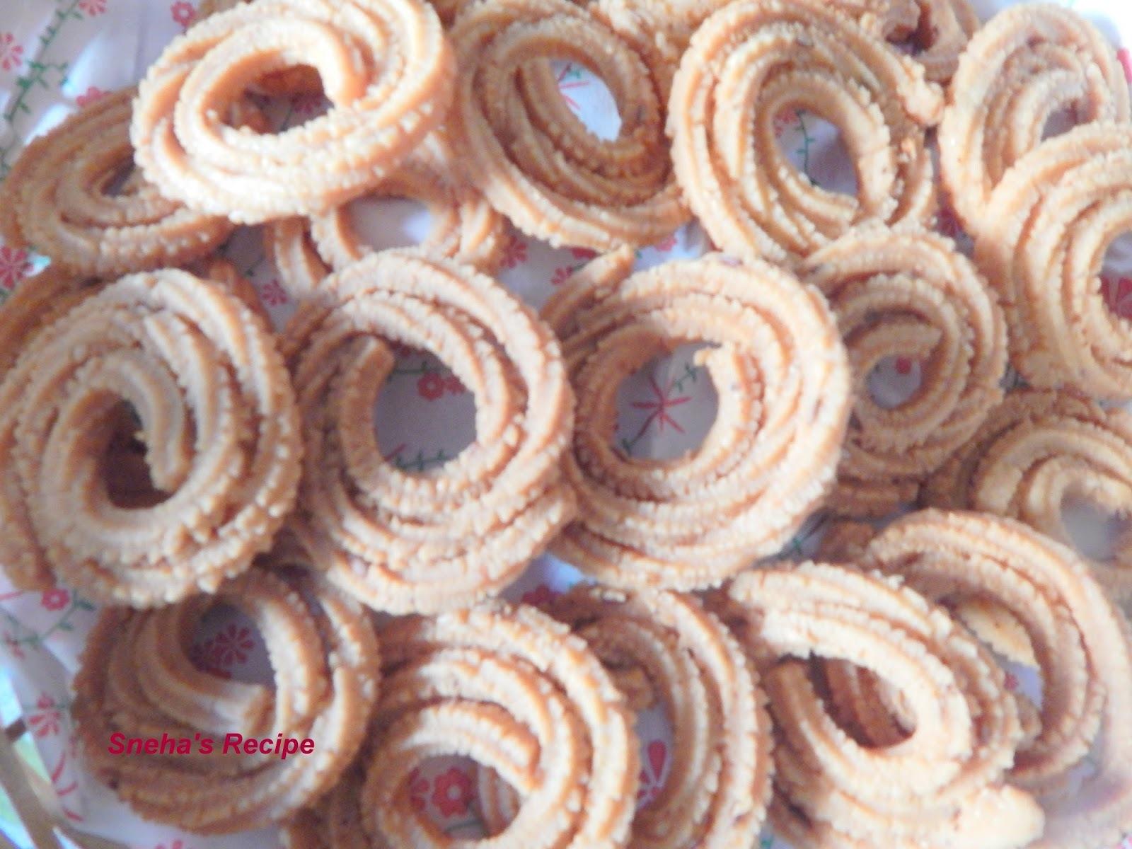 rice chakli by sanjeev kapoor