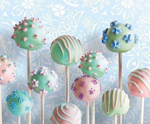 Receta: Cake Pops!
