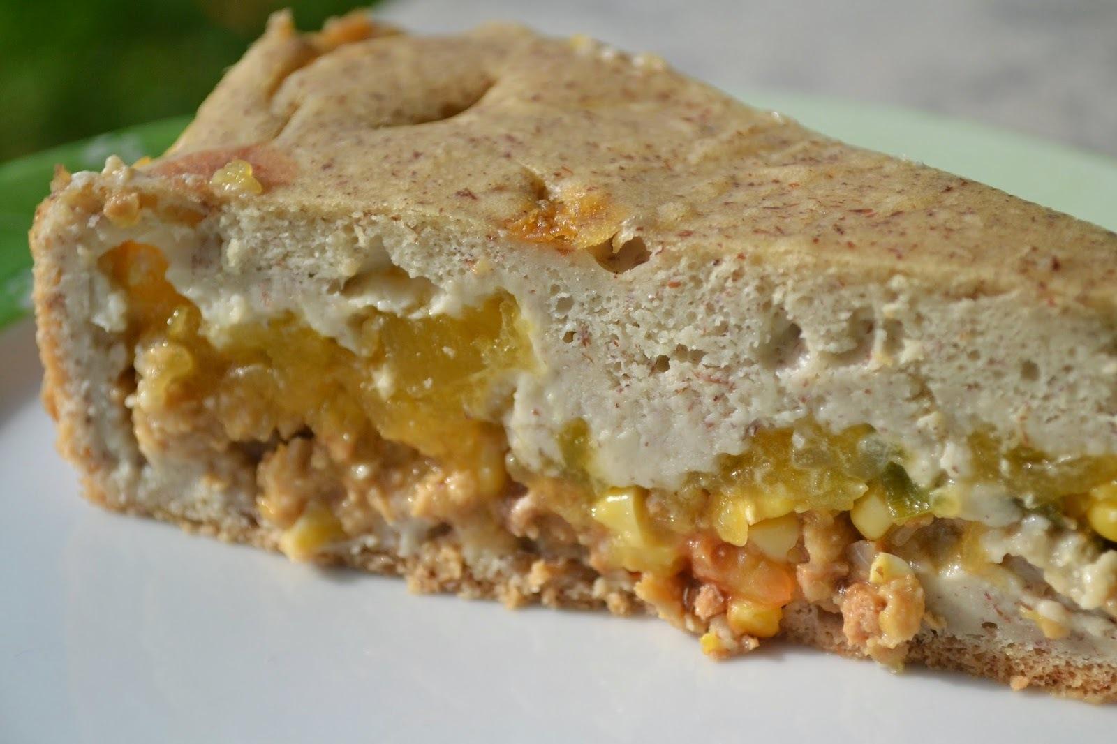 Torta de abóbora (vegan)