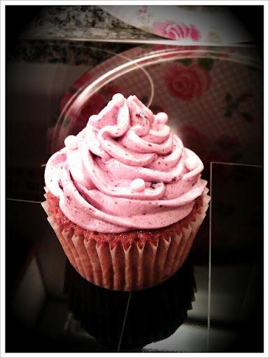 Primera receta: Cupcakes de arándanos!