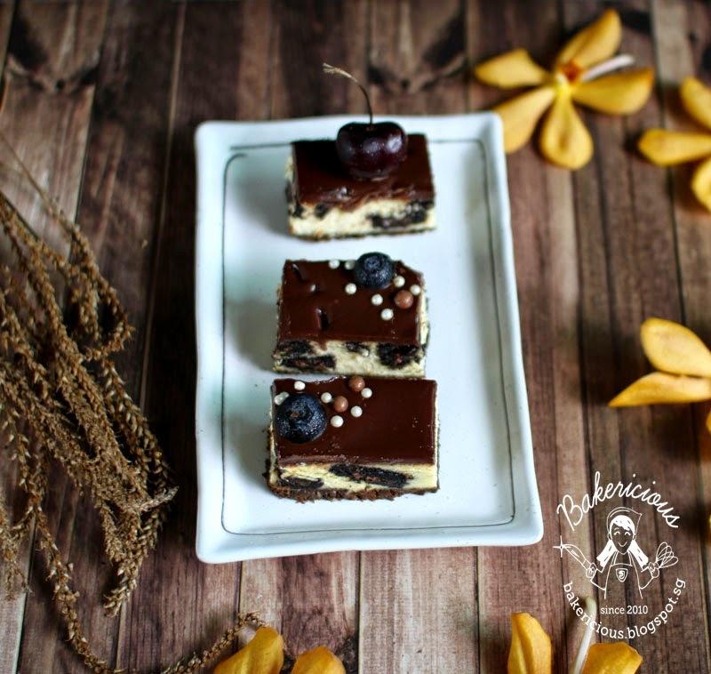 Oreo Cheesecake bar