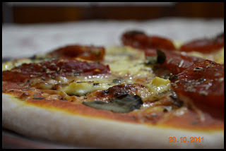 Massa Fácil de Pizza