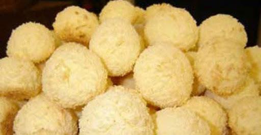 Biscoitinho de leite condensado e coco