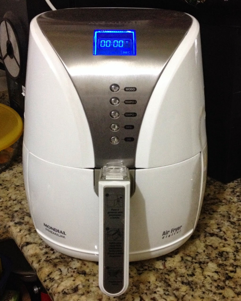 [Na Cozinha] A fritura sem óleo da panela Air Fryer
