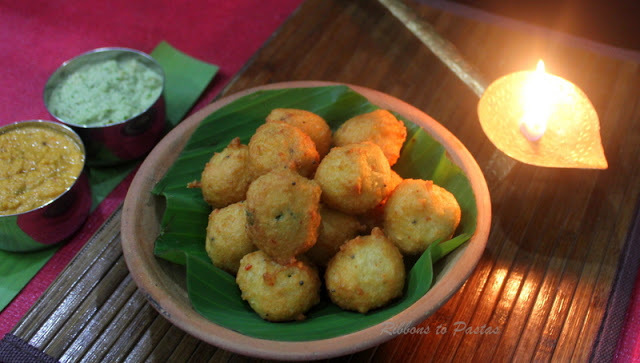 Thavala  Vada with Coconut Chutney