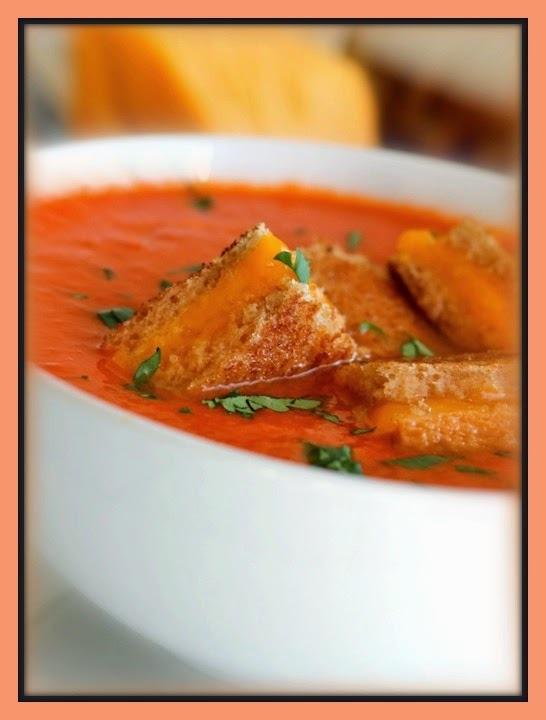 Sopa de tomate cremosa
